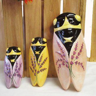 Ceramic Cicadas